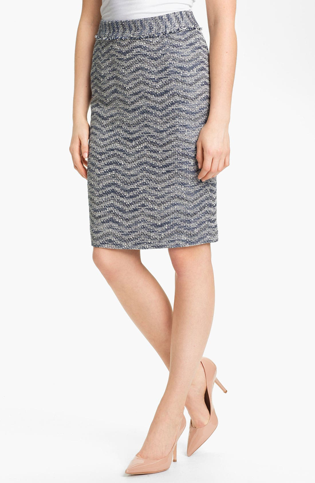 Alternate Image 1 Selected - Classiques Entier Tweed Skirt