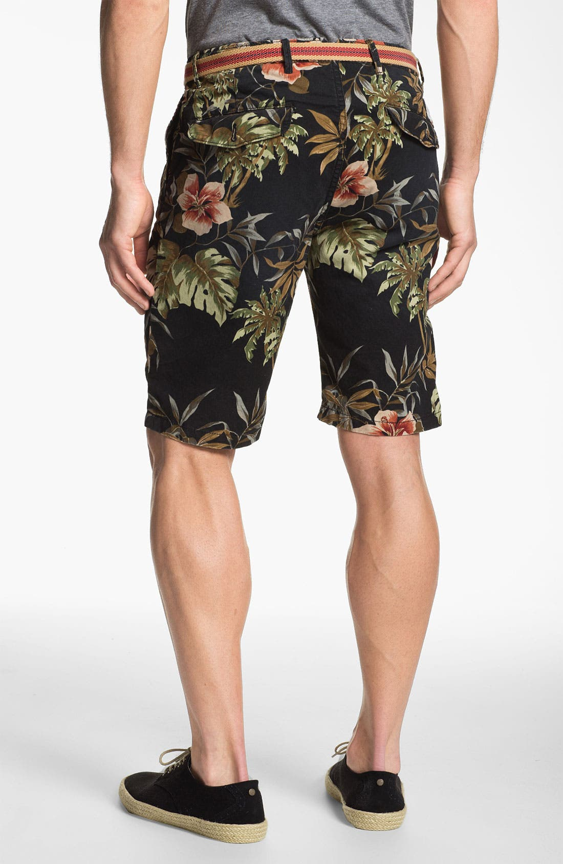 Alternate Image 2  - Scotch & Soda Floral Print Chino Shorts