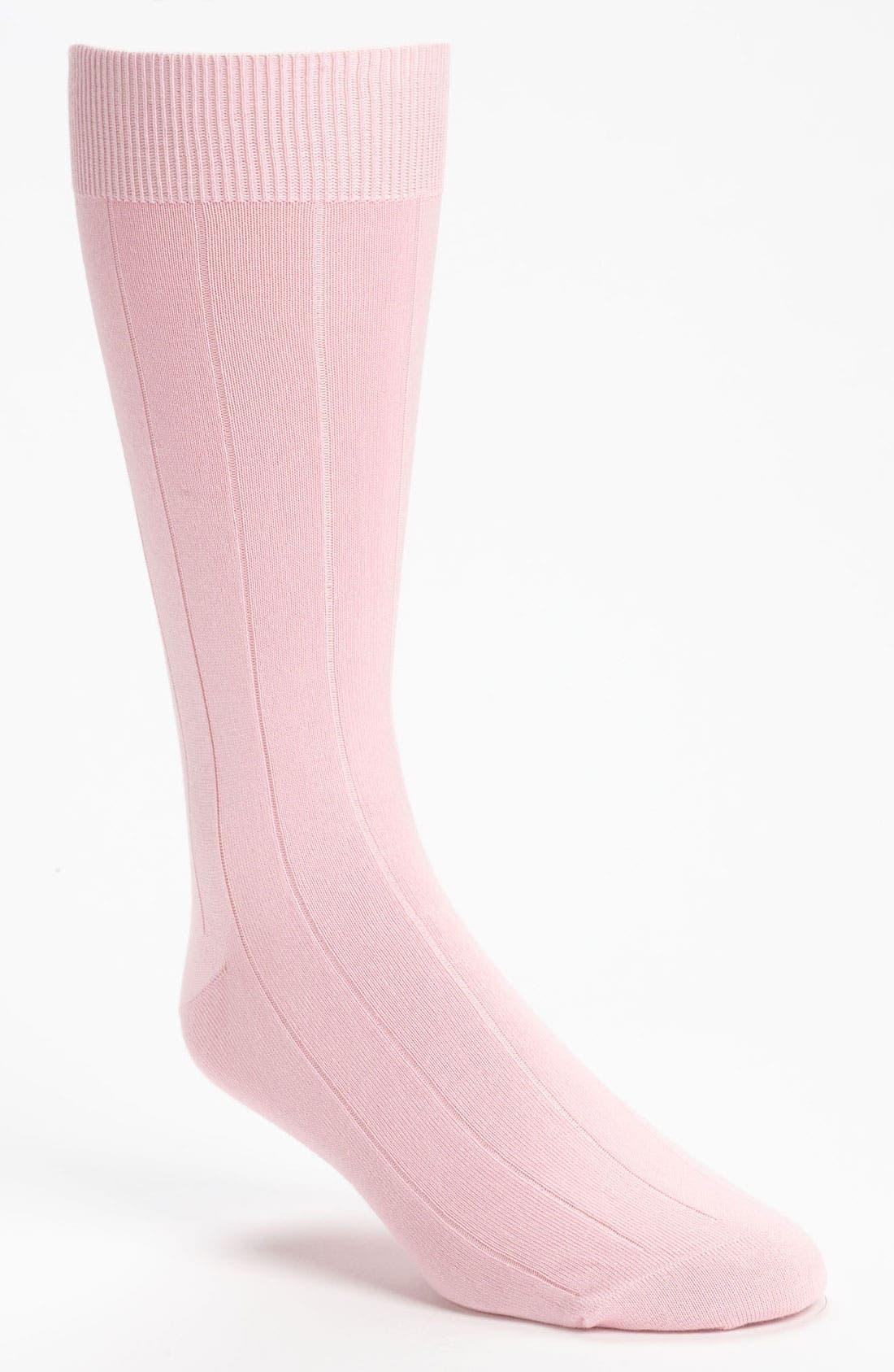 Alternate Image 1 Selected - Brooks Brothers 'Sea Island' Socks