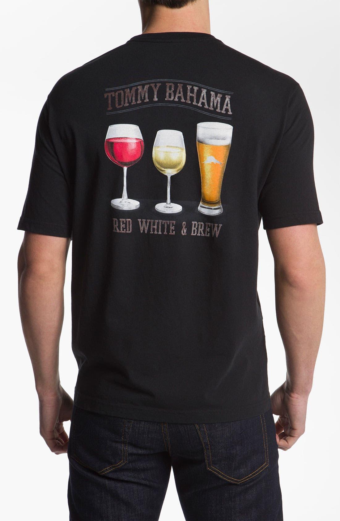 Alternate Image 1 Selected - Tommy Bahama Cotton T-Shirt