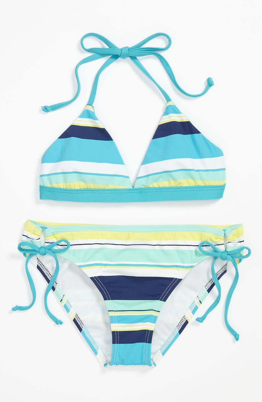 Alternate Image 1 Selected - Splendid Two Piece Swimsuit (Big Girls)