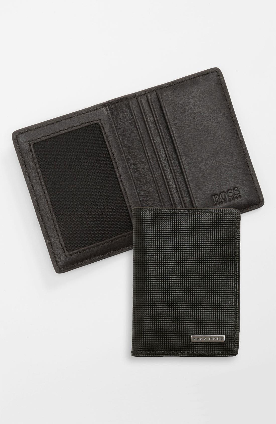 Alternate Image 1 Selected - BOSS Black 'Lambro' Wallet