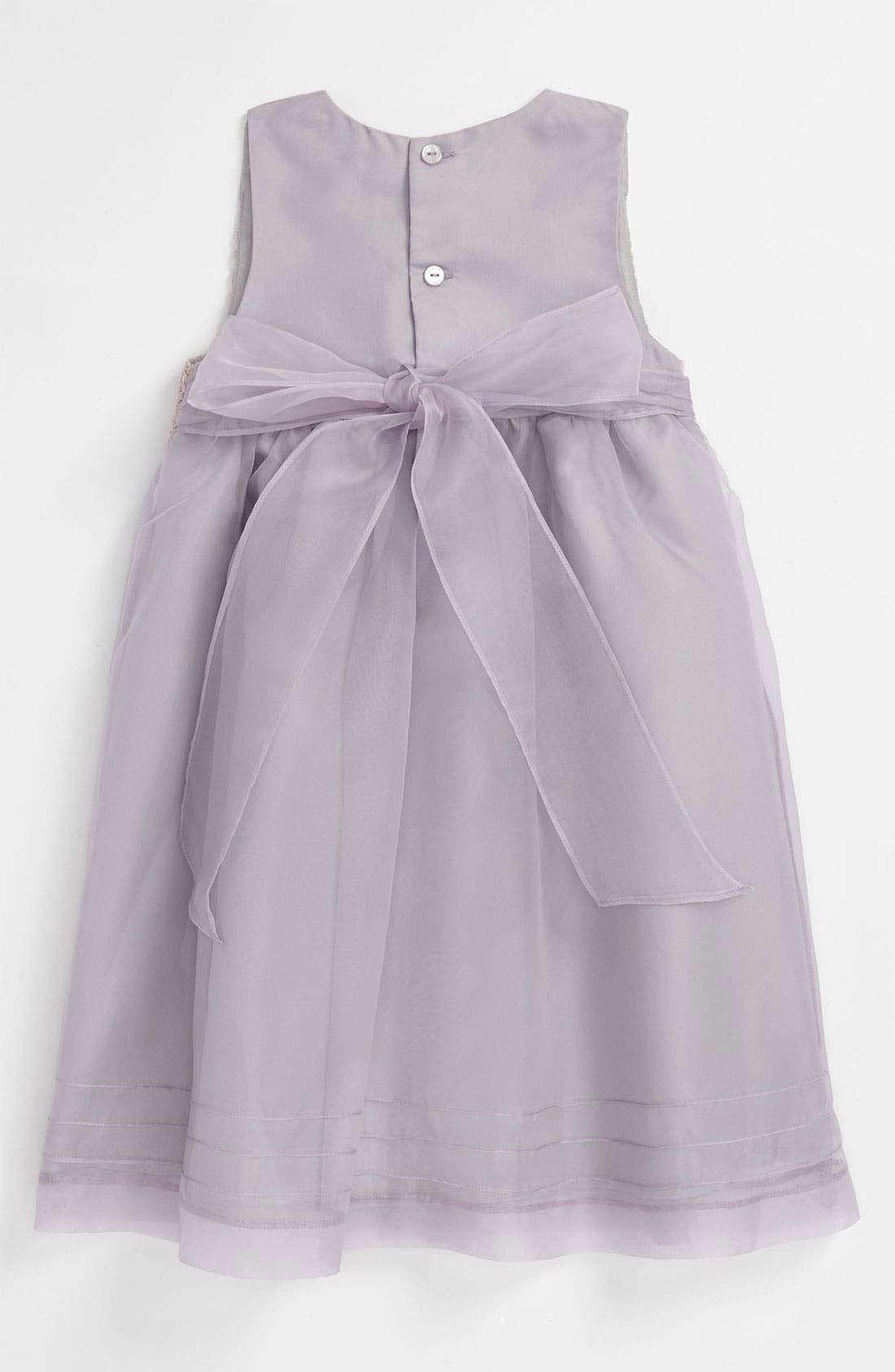 Alternate Image 2  - Luli & Me Organza Dress (Baby)