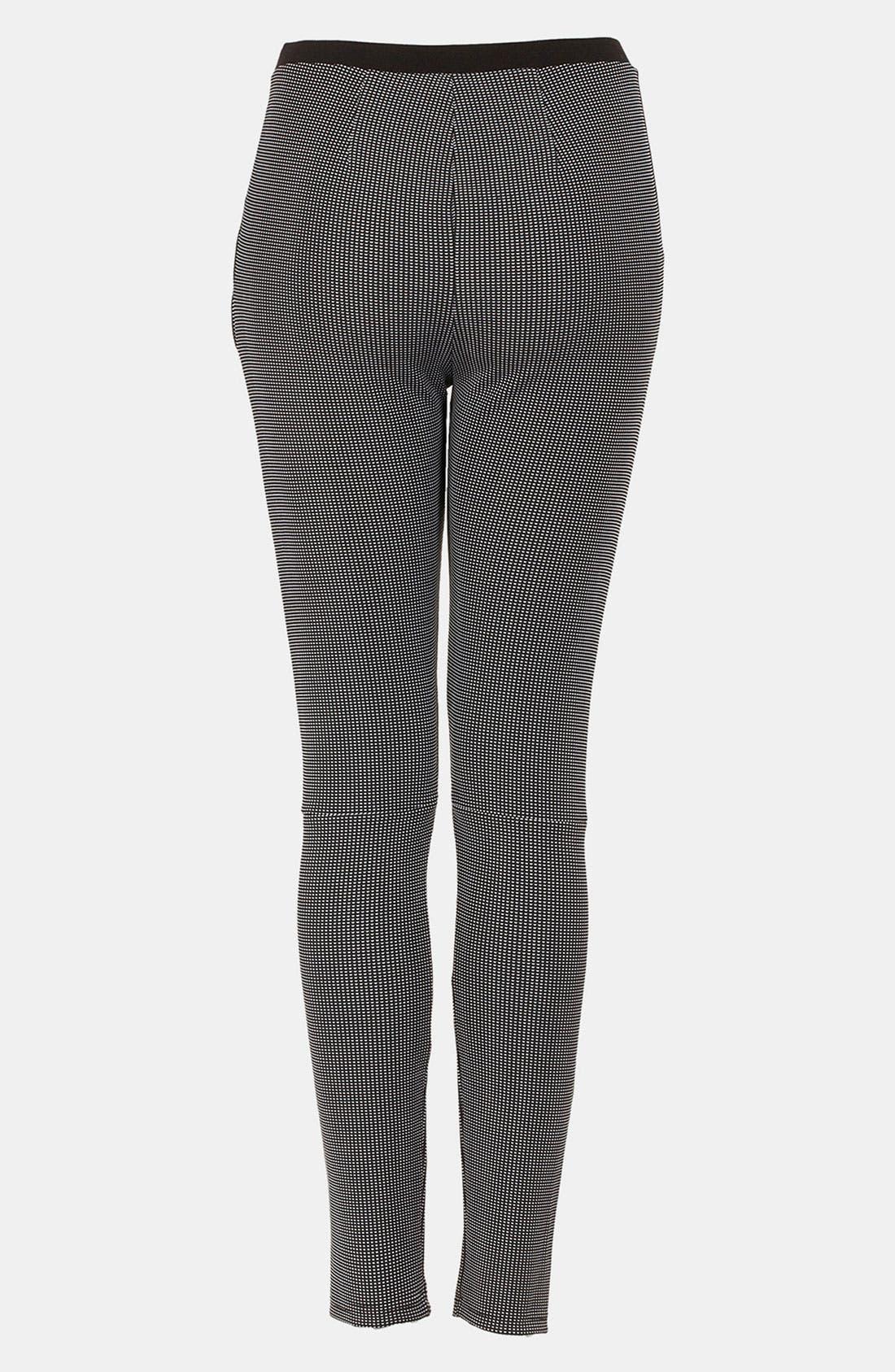 Alternate Image 2  - Topshop Skinny Knit Pants