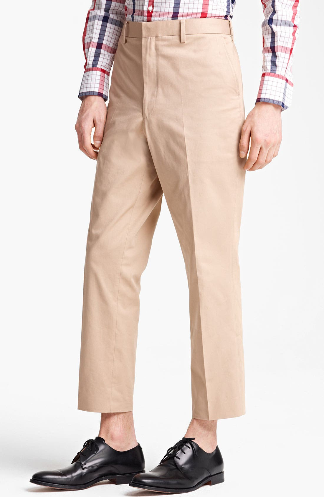 Main Image - Thom Browne Cotton Trousers