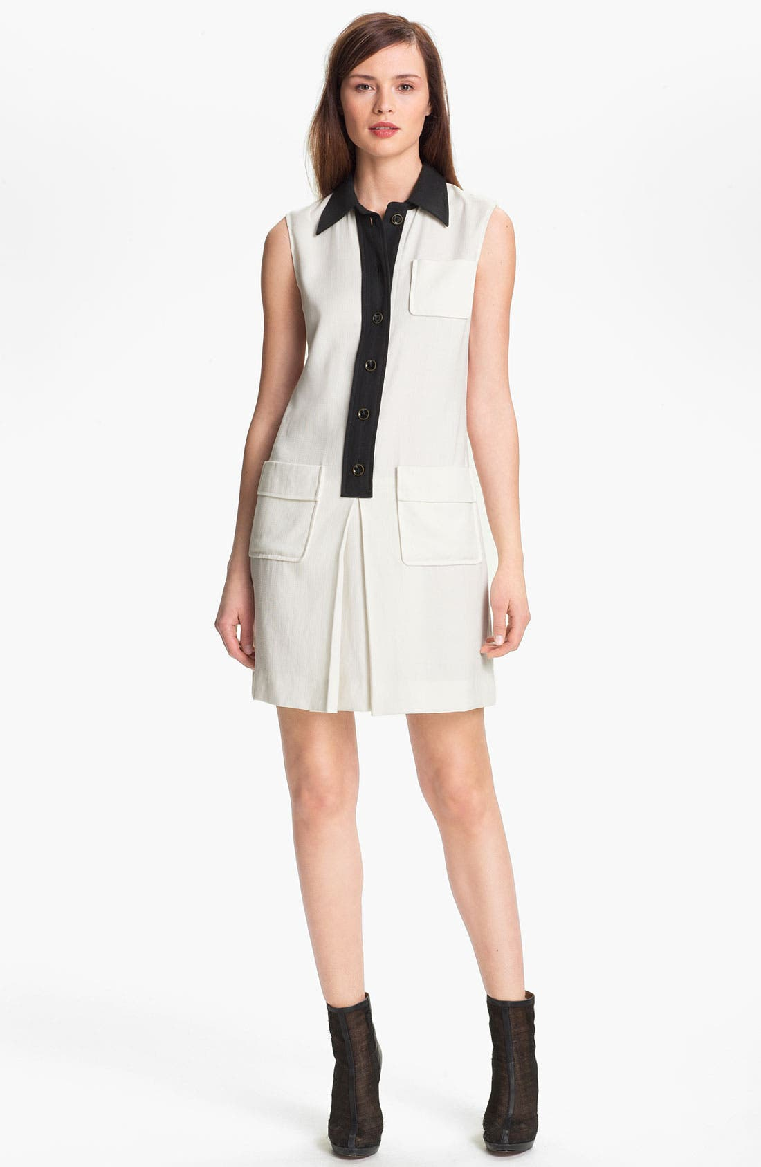 Alternate Image 1  - Rachel Zoe 'Rosie' Sleeveless Shirtdress