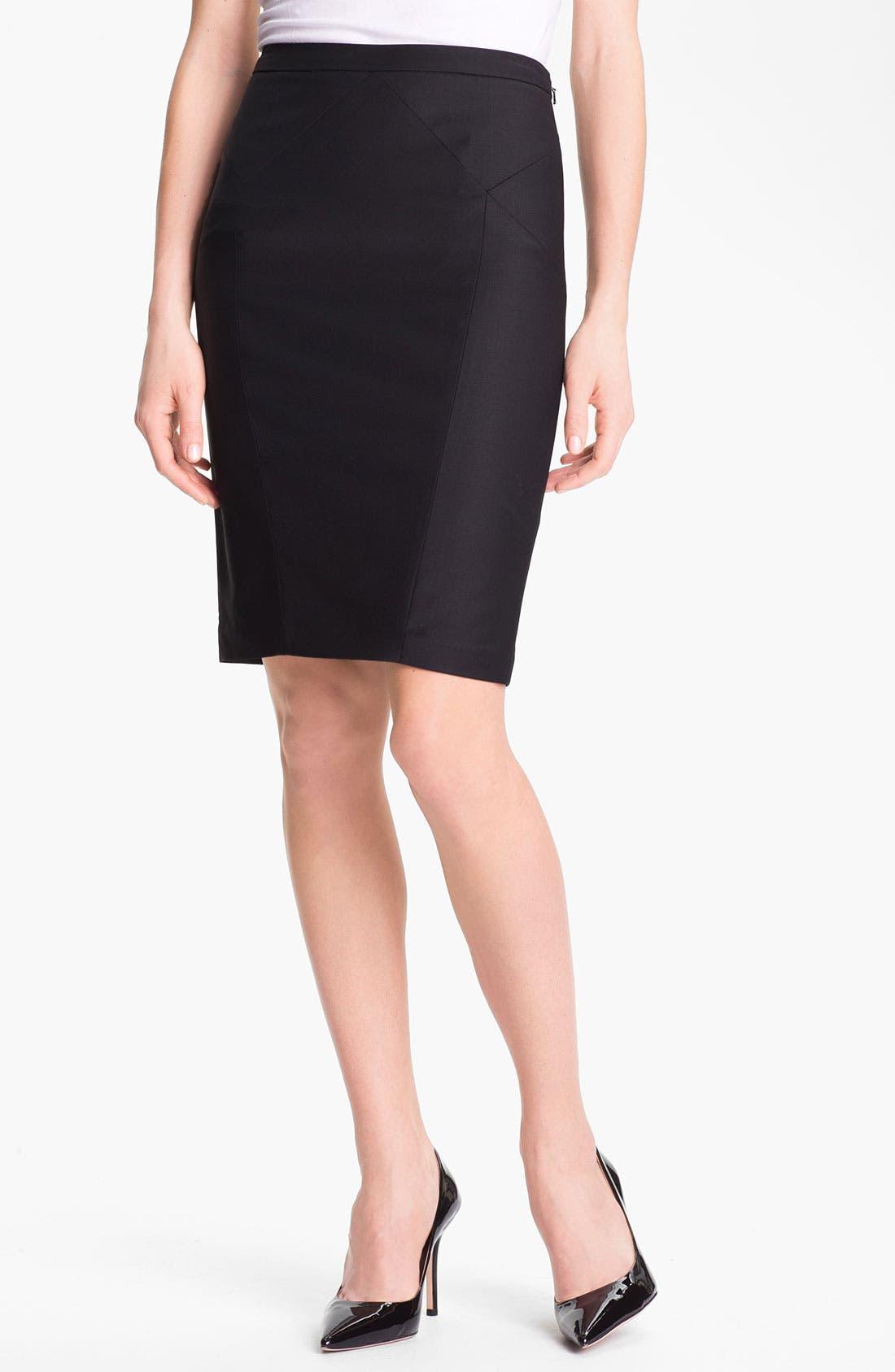 Alternate Image 1 Selected - Ted Baker London 'Lavanta' Pencil Skirt (Online Only)