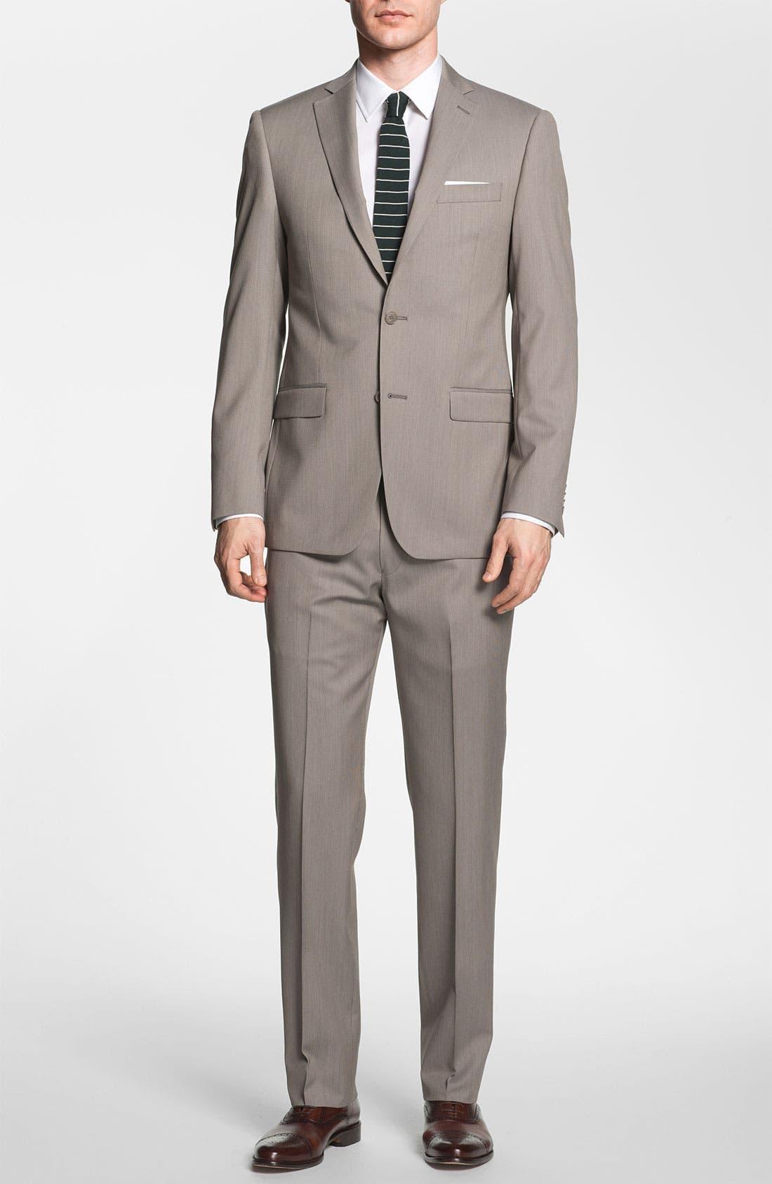 Alternate Image 2  - Michael Kors Trim Fit Wool Suit