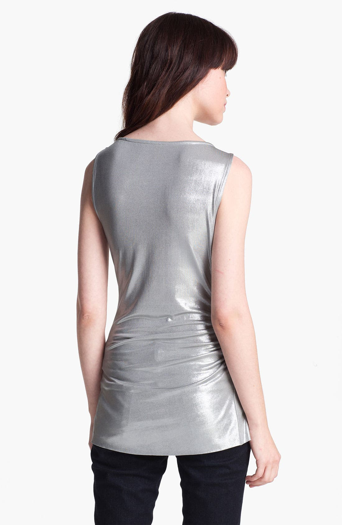Alternate Image 2  - Bailey 44 'Riptide' Metallic Draped Top