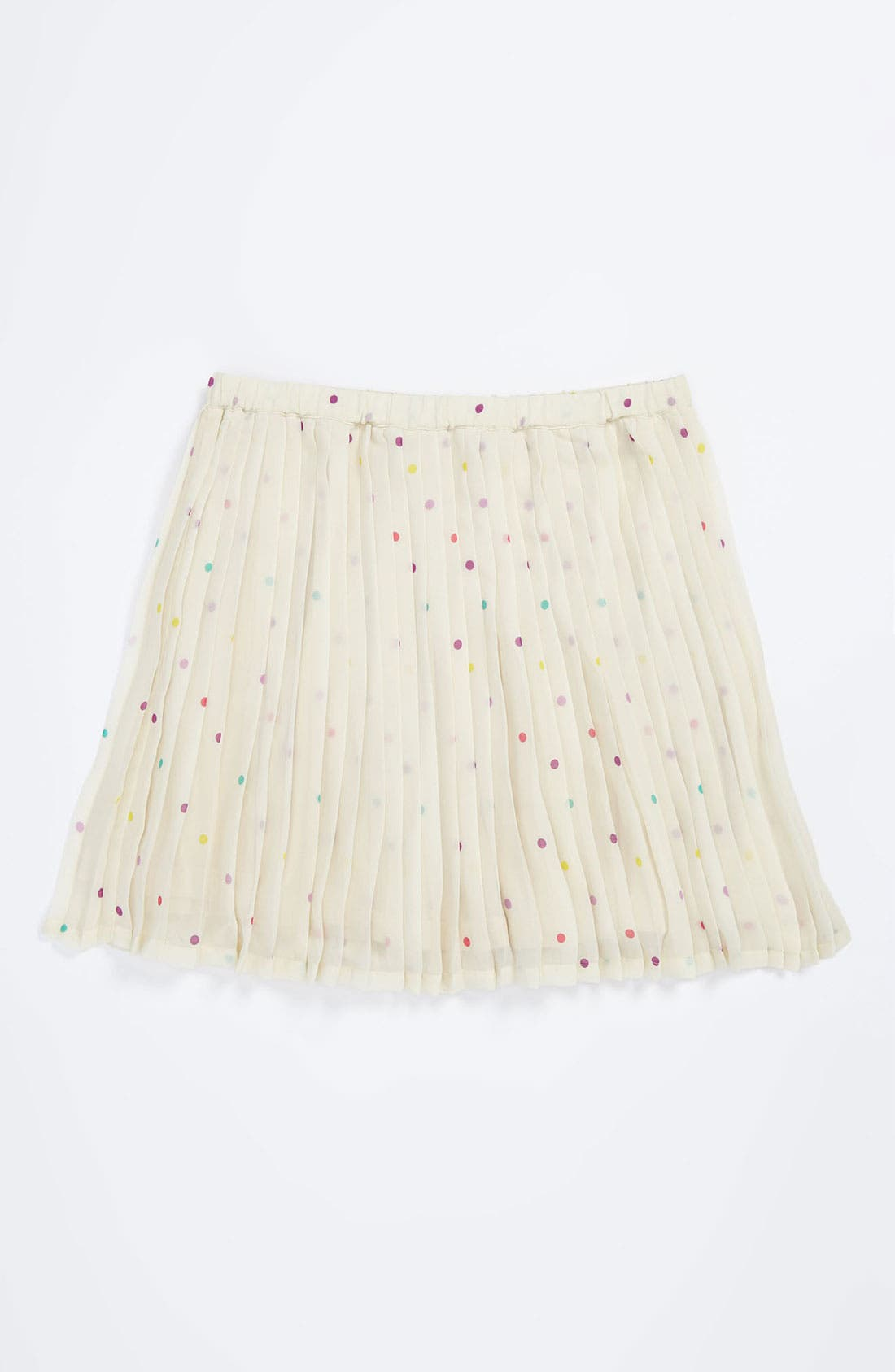 Main Image - Ruby & Bloom Pleated Chiffon Skirt (Little Girls)