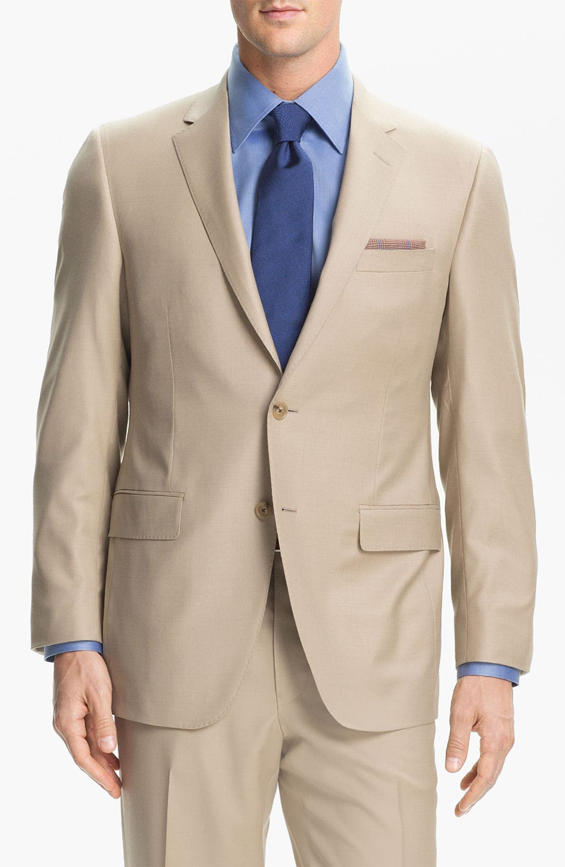 Alternate Image 1 Selected - Samuelsohn 'Performance' Stretch Wool Suit