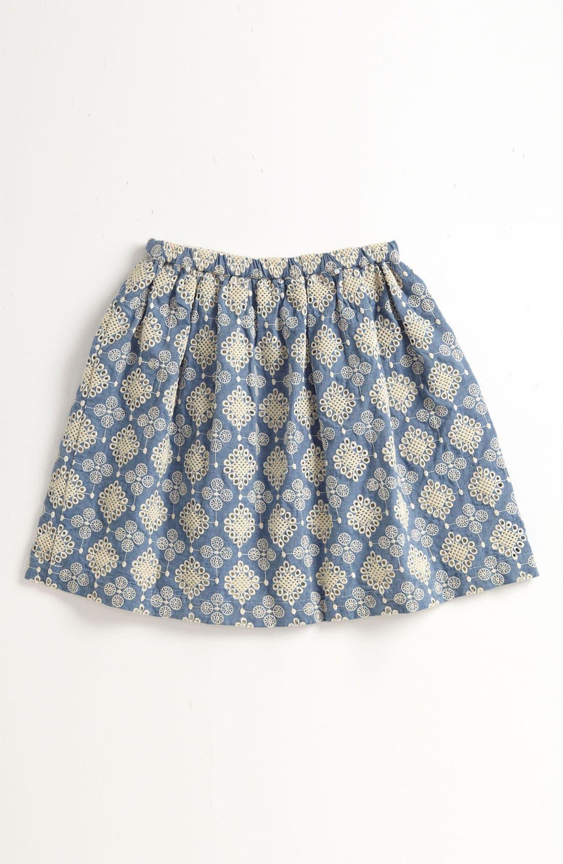 Main Image - Peek 'Nina' Skirt (Big Girls)
