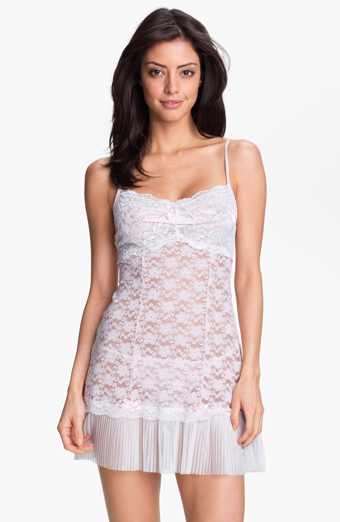 Main Image - In Bloom by Jonquil 'Pretty Baby' Chemise & G-String Set