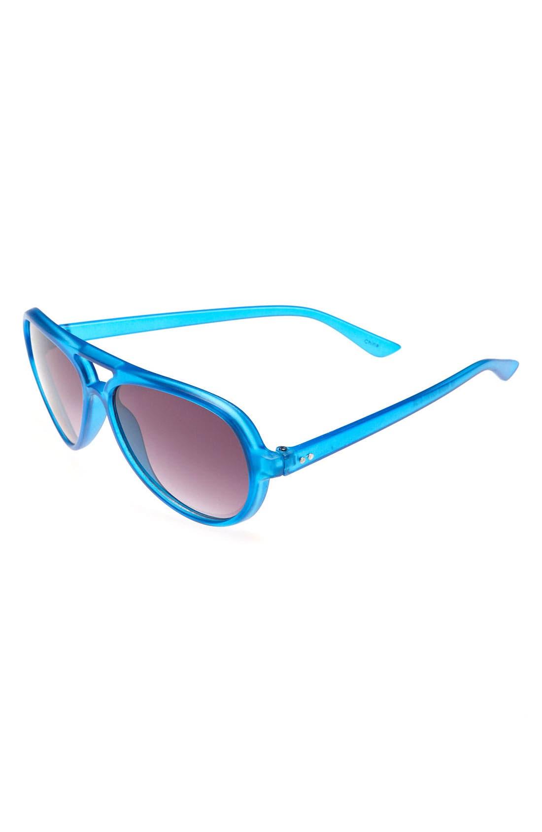 Main Image - Icon Eyewear Aviator Sunglasses (Boys)