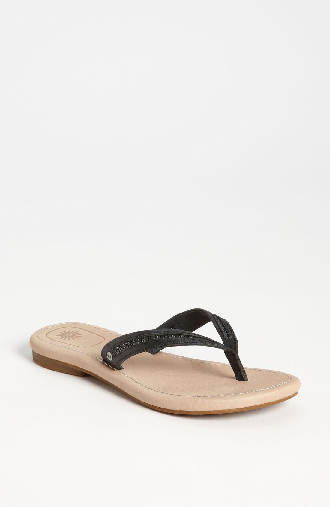Alternate Image 1 Selected - UGG® Australia 'Elyza II' Sandal (Women)