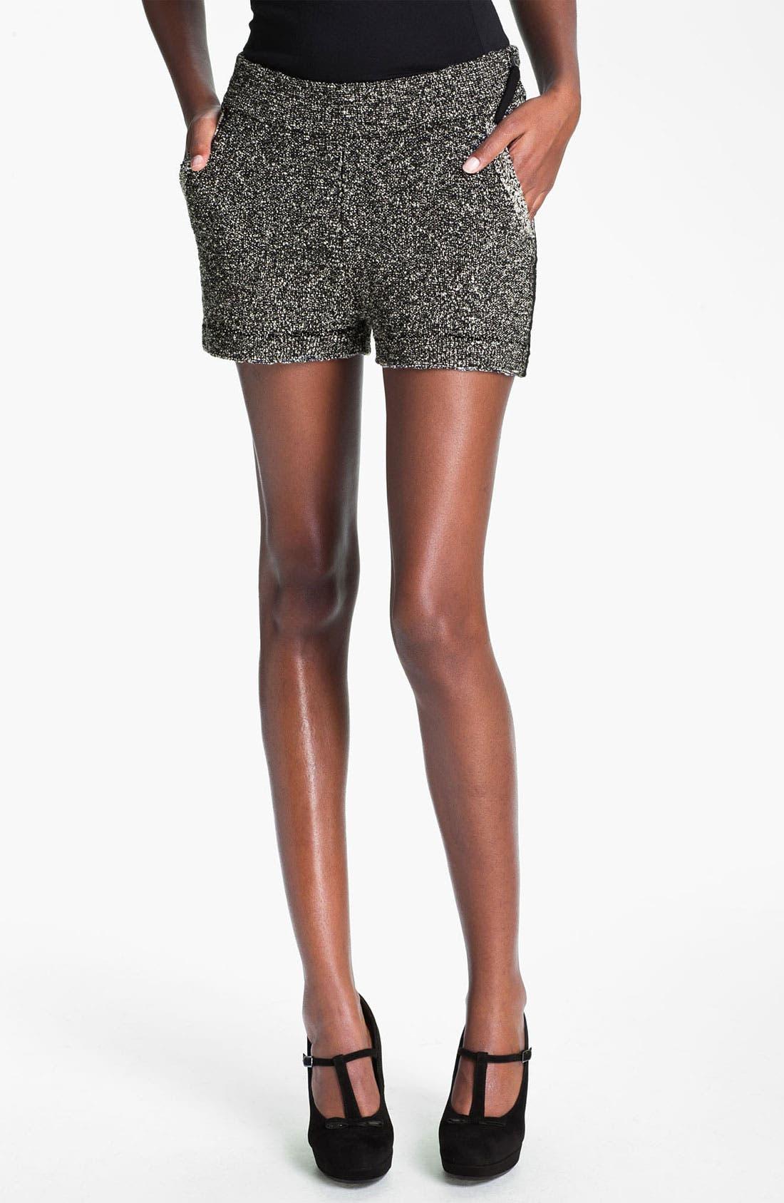 Alternate Image 1 Selected - Skaist-Taylor Bouclé Shorts