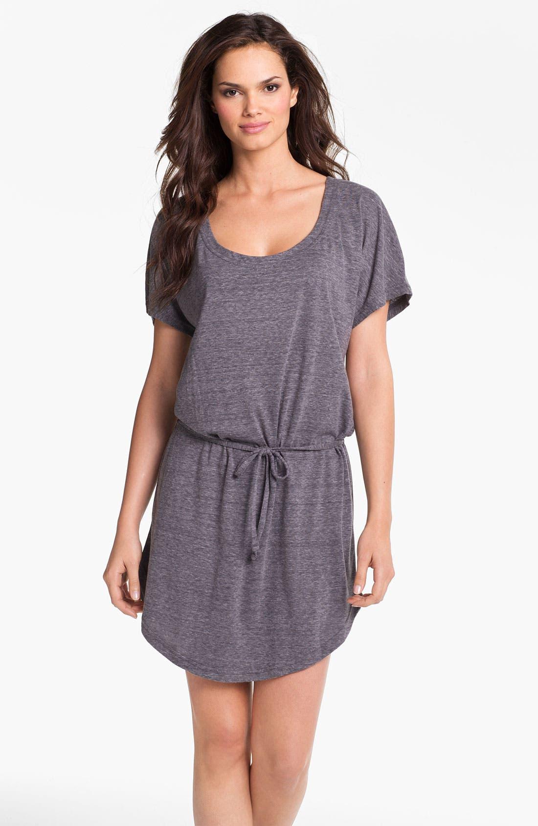 Main Image - Eco Swim Blouson Cover-Up Dress
