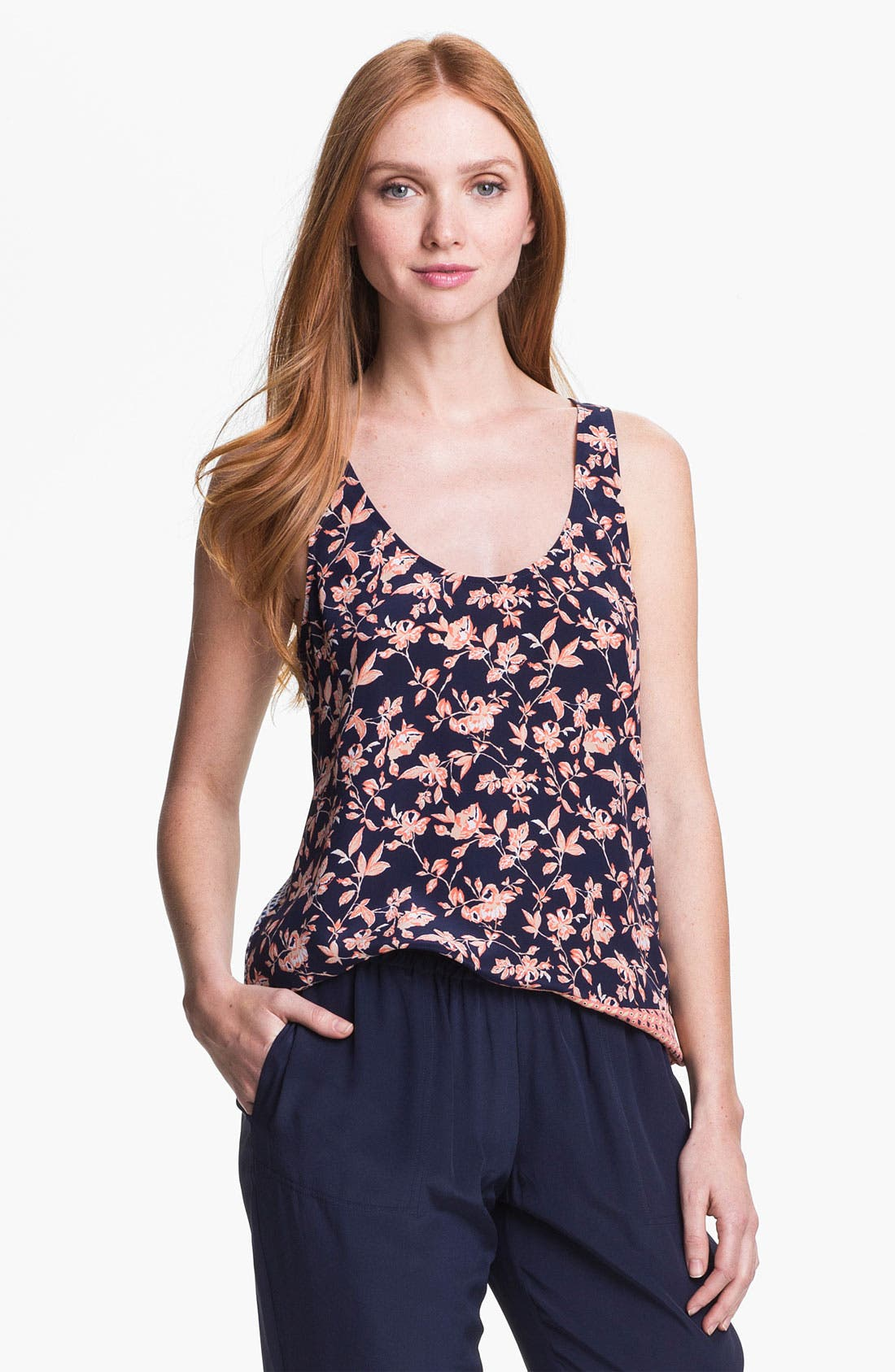 Alternate Image 1 Selected - Joie 'Georgetta' Silk Tank