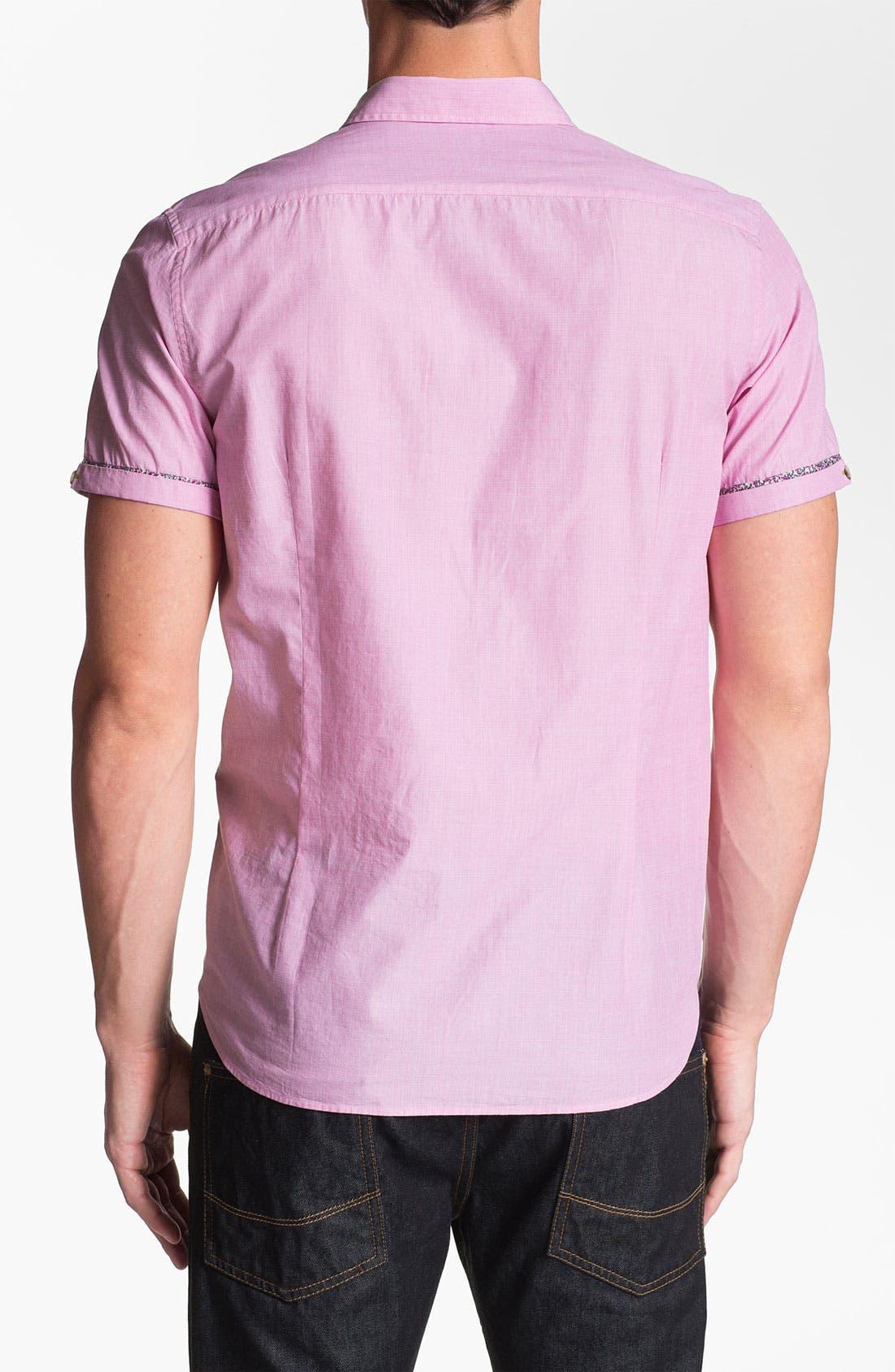 Alternate Image 2  - Ted Baker London 'Pingty Pattern' Trim Fit Sport Shirt