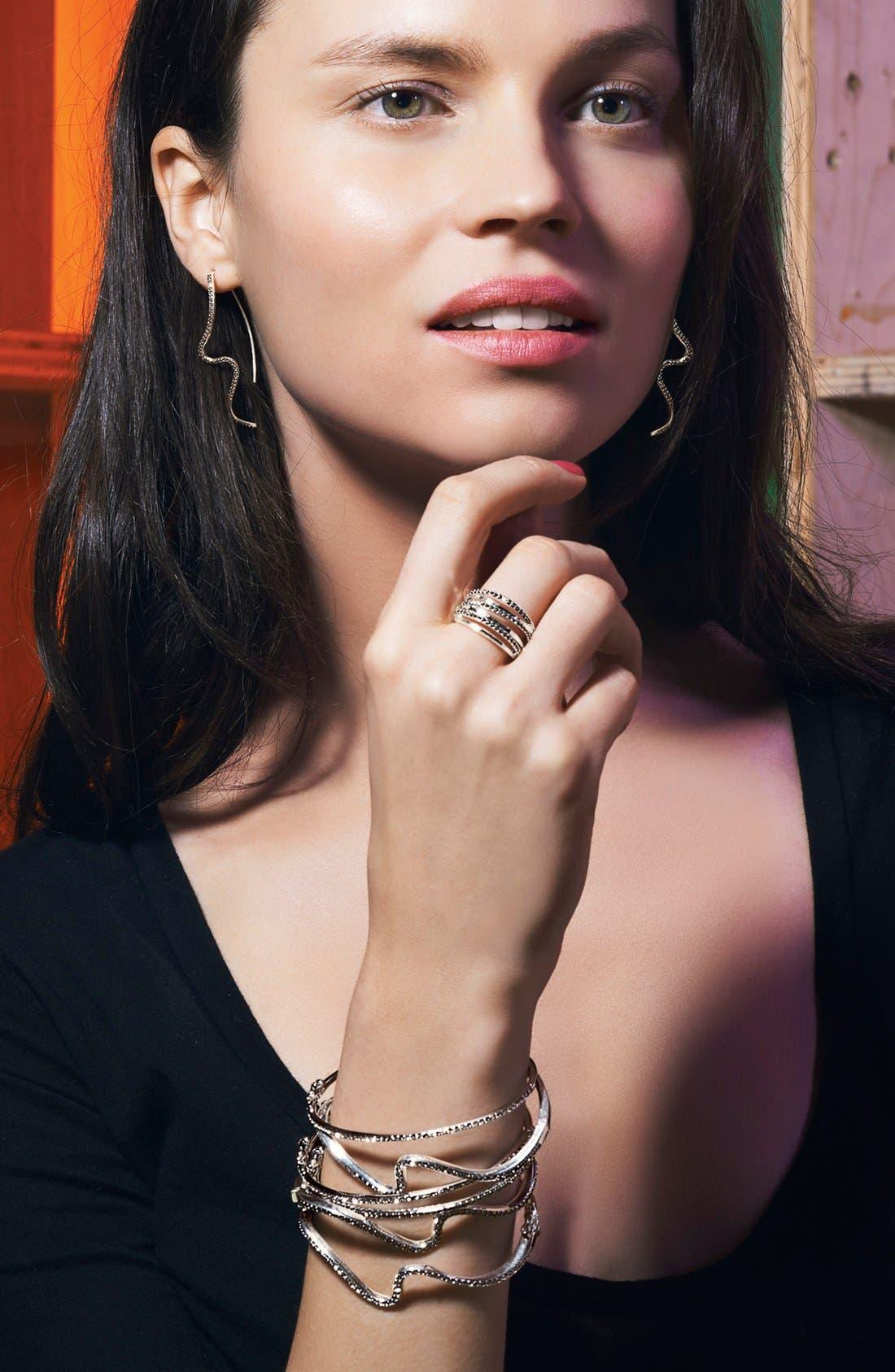 Alternate Image 3  - Judith Jack 'Fluidity' Linear Earrings