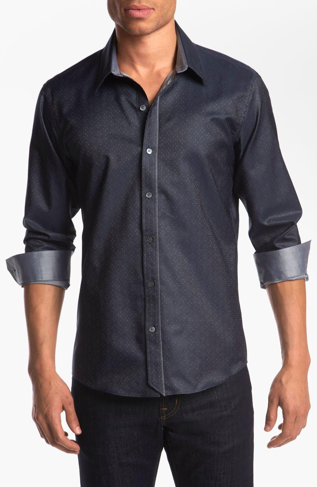 Alternate Image 1 Selected - Kenson 'Vertigo' Sport Shirt