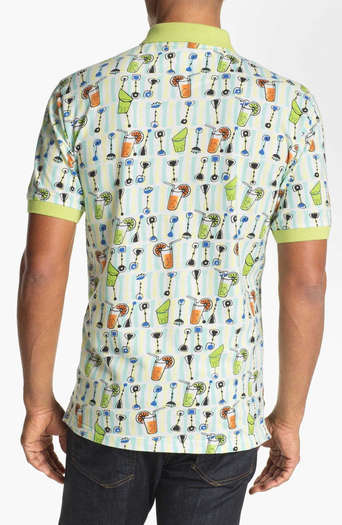 Alternate Image 2  - Robert Graham 'Beach Party' Regular Fit Polo