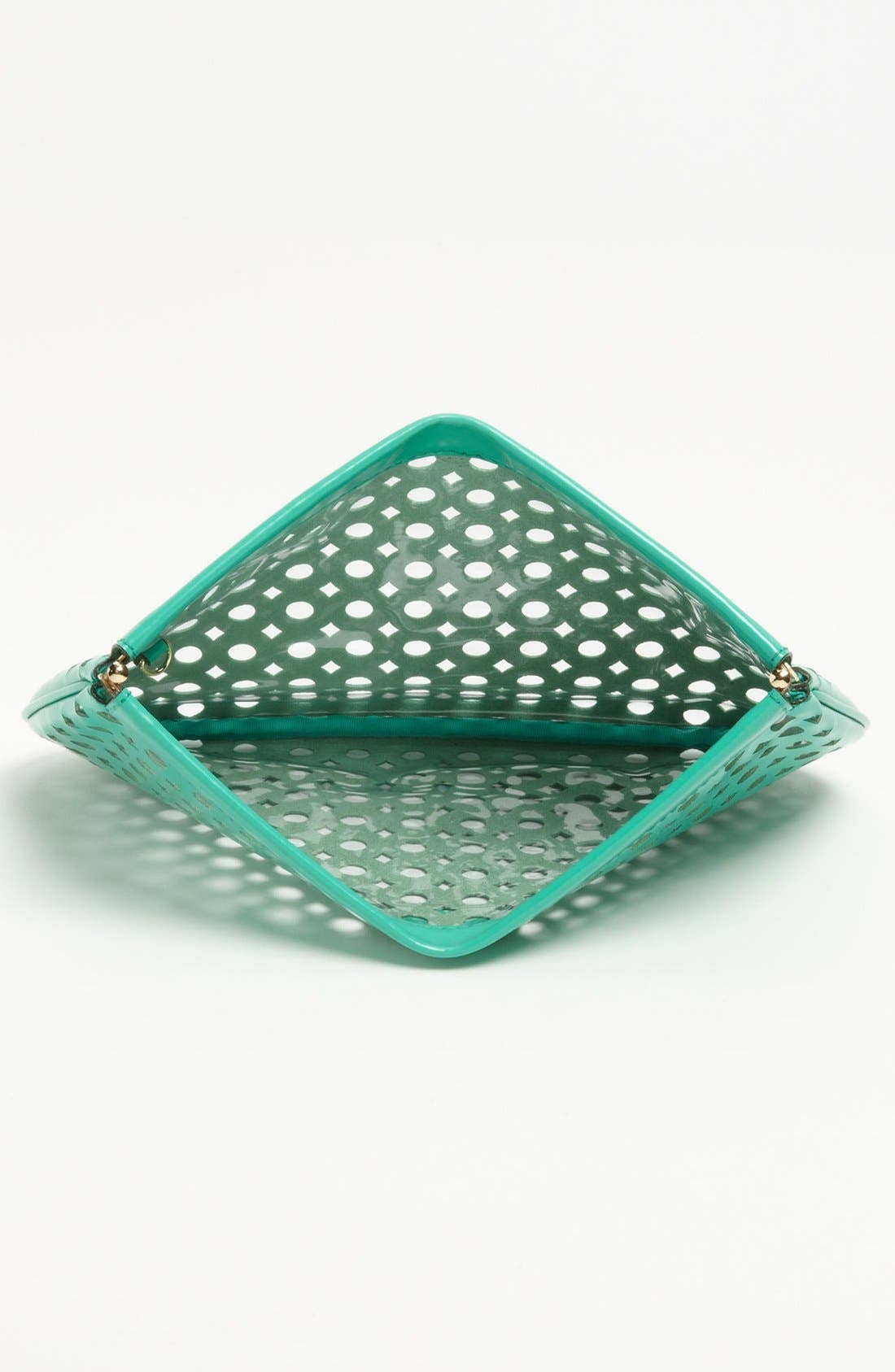 Alternate Image 3  - Milly 'Addison Facile' Patent Leather Clutch