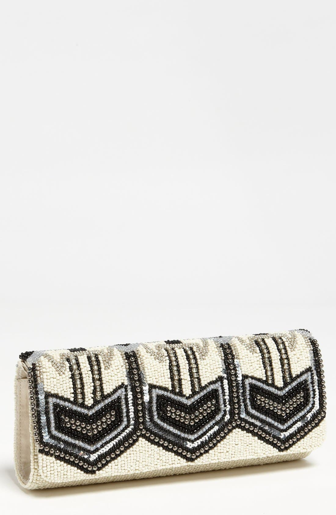 Alternate Image 1 Selected - Moyna 'Deco' Beaded Clutch