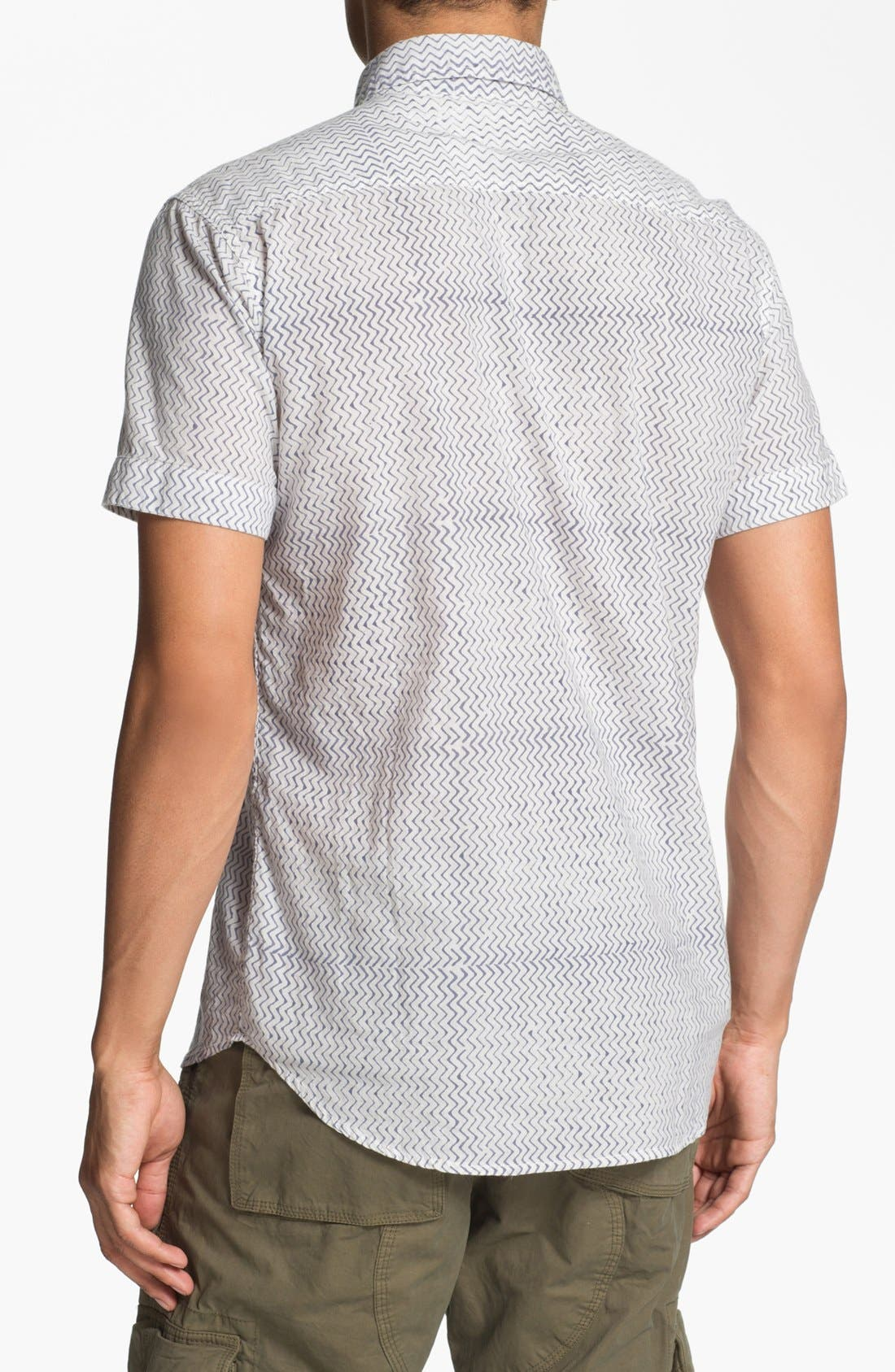Alternate Image 3  - Just A Cheap Shirt Short Sleeve Slim Fit Sport Shirt