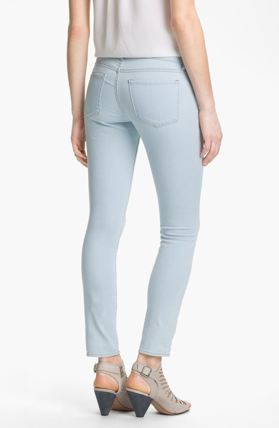 Alternate Image 2  - Two by Vince Camuto Skinny Jeans (Pale Blue)