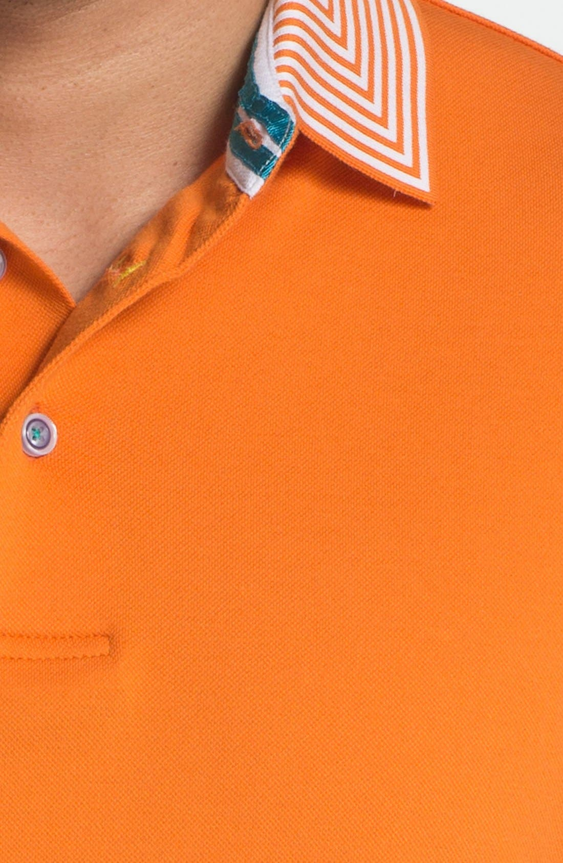 Alternate Image 3  - Robert Graham 'Hayden' Knit Polo