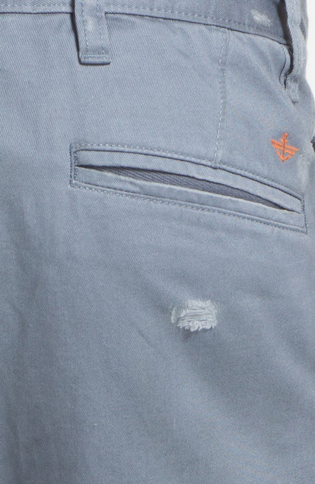 Alternate Image 3  - Dockers® 'Alpha Khaki - Destructed' Slim Straight Leg Chinos