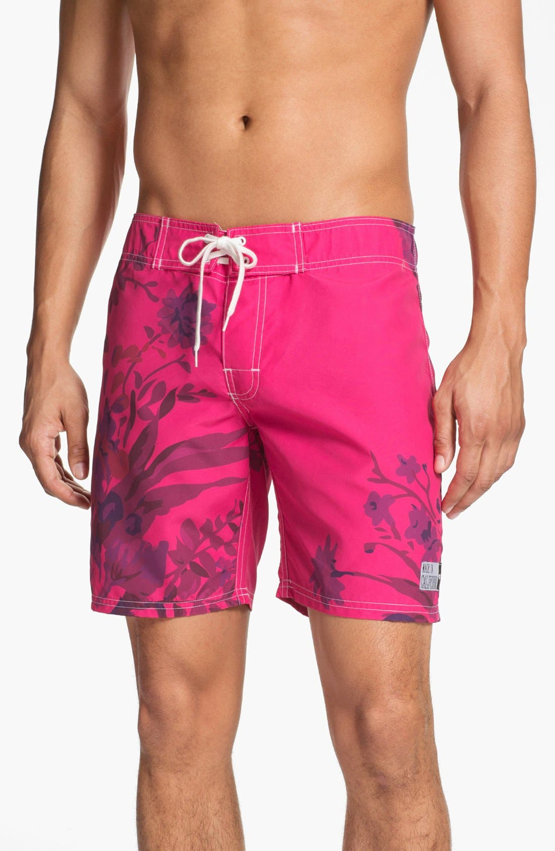 Alternate Image 1 Selected - ambsn 'Trudy' Board Shorts