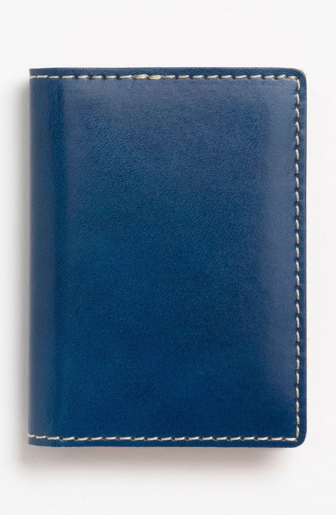 Alternate Image 1 Selected - J Fold 'Superglaze' Folding Card Holder
