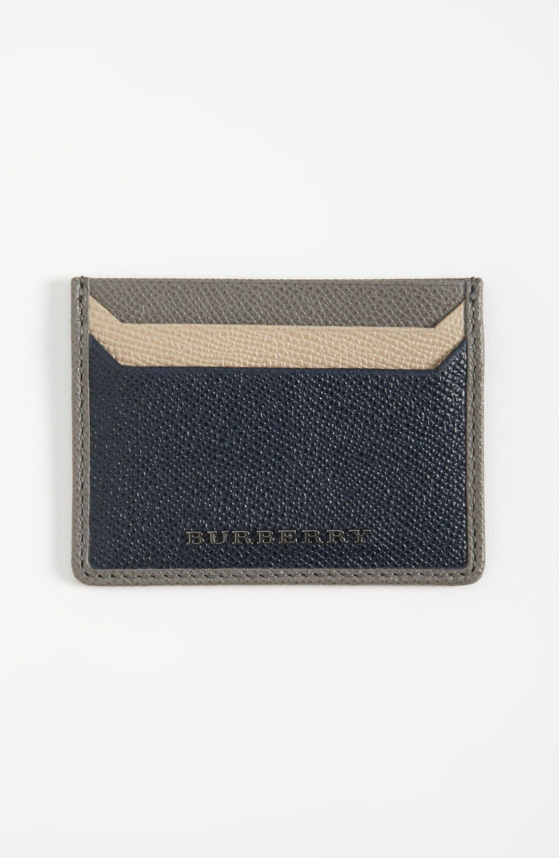 Alternate Image 1 Selected - Burberry Card Case
