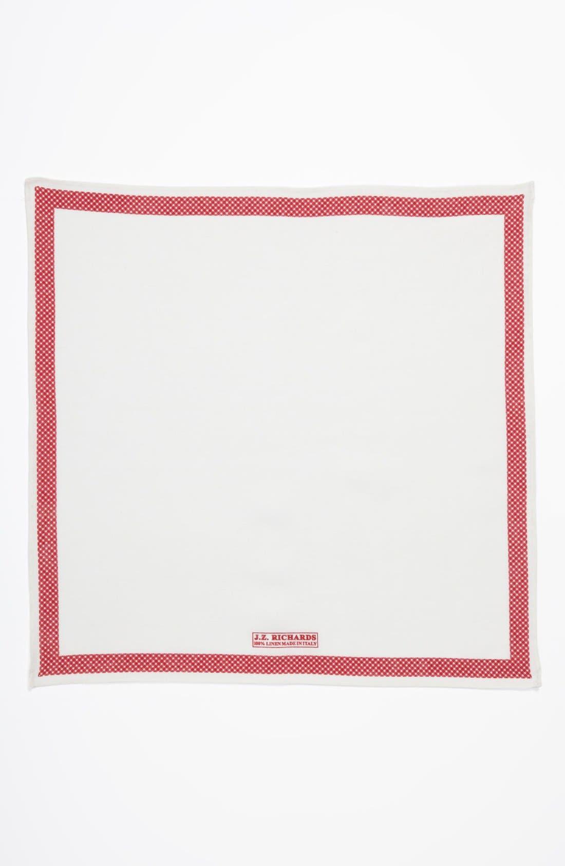 Alternate Image 2  - J.Z. Richards Linen Pocket Square