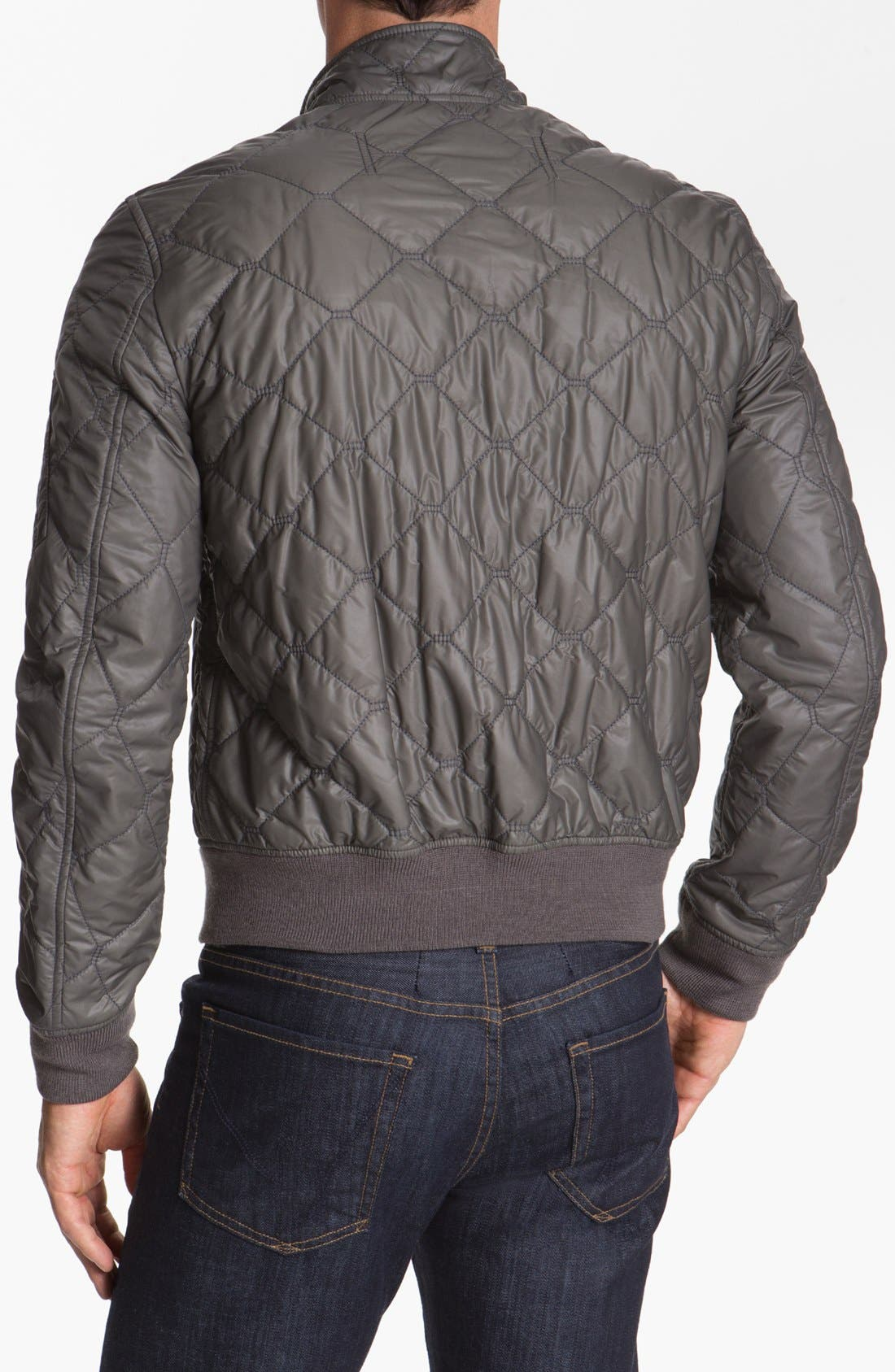 Alternate Image 2  - Burberry Brit Quilted Jacket
