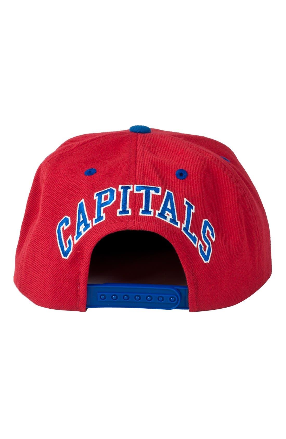 Alternate Image 2  - American Needle 'Washinton Capitals - Blockhead' Snapback Hockey Cap