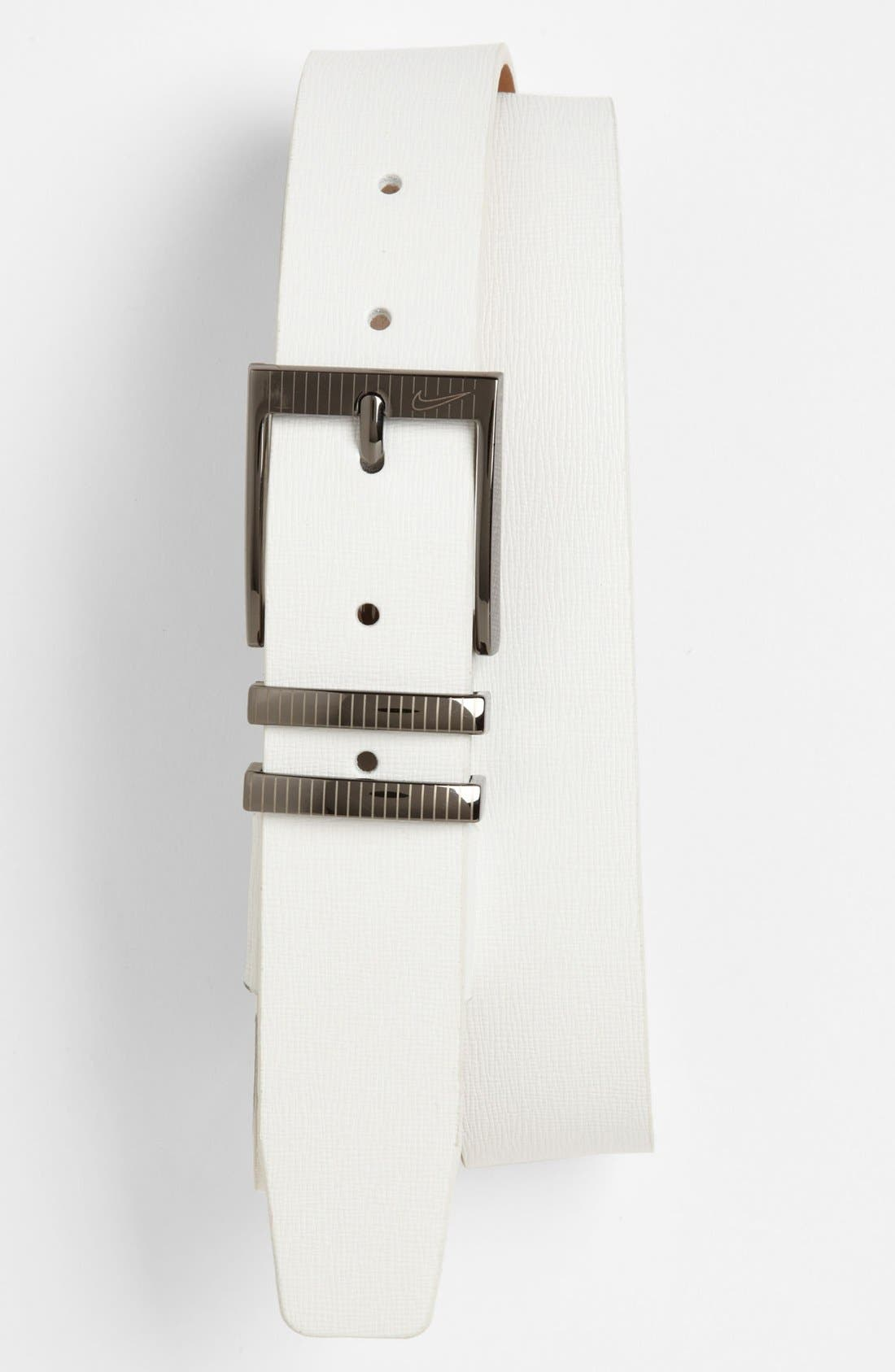 Alternate Image 1 Selected - Nike Golf 'Laser Etched II' Belt