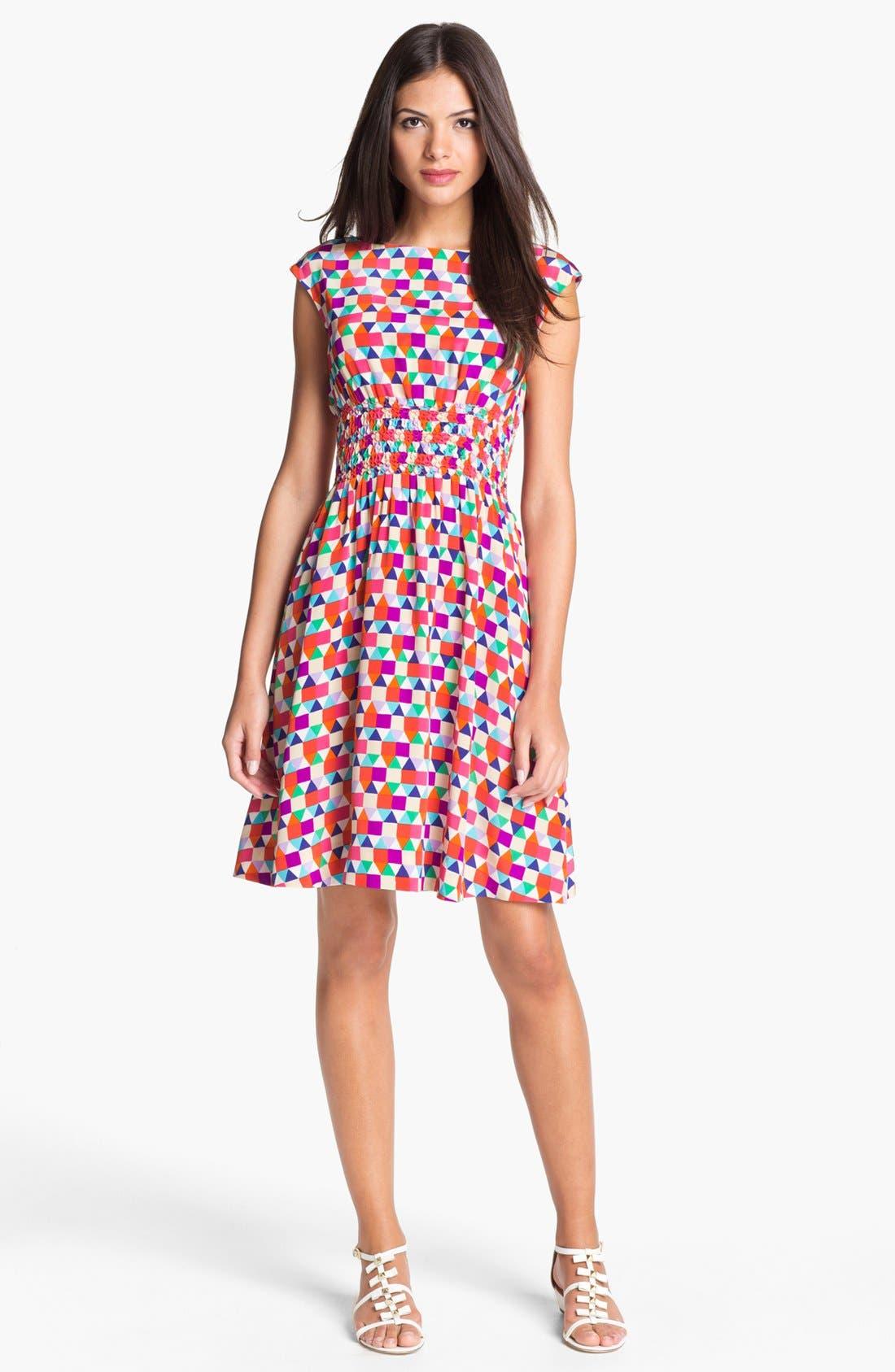 Alternate Image 1 Selected - kate spade new york 'blaire' silk dress