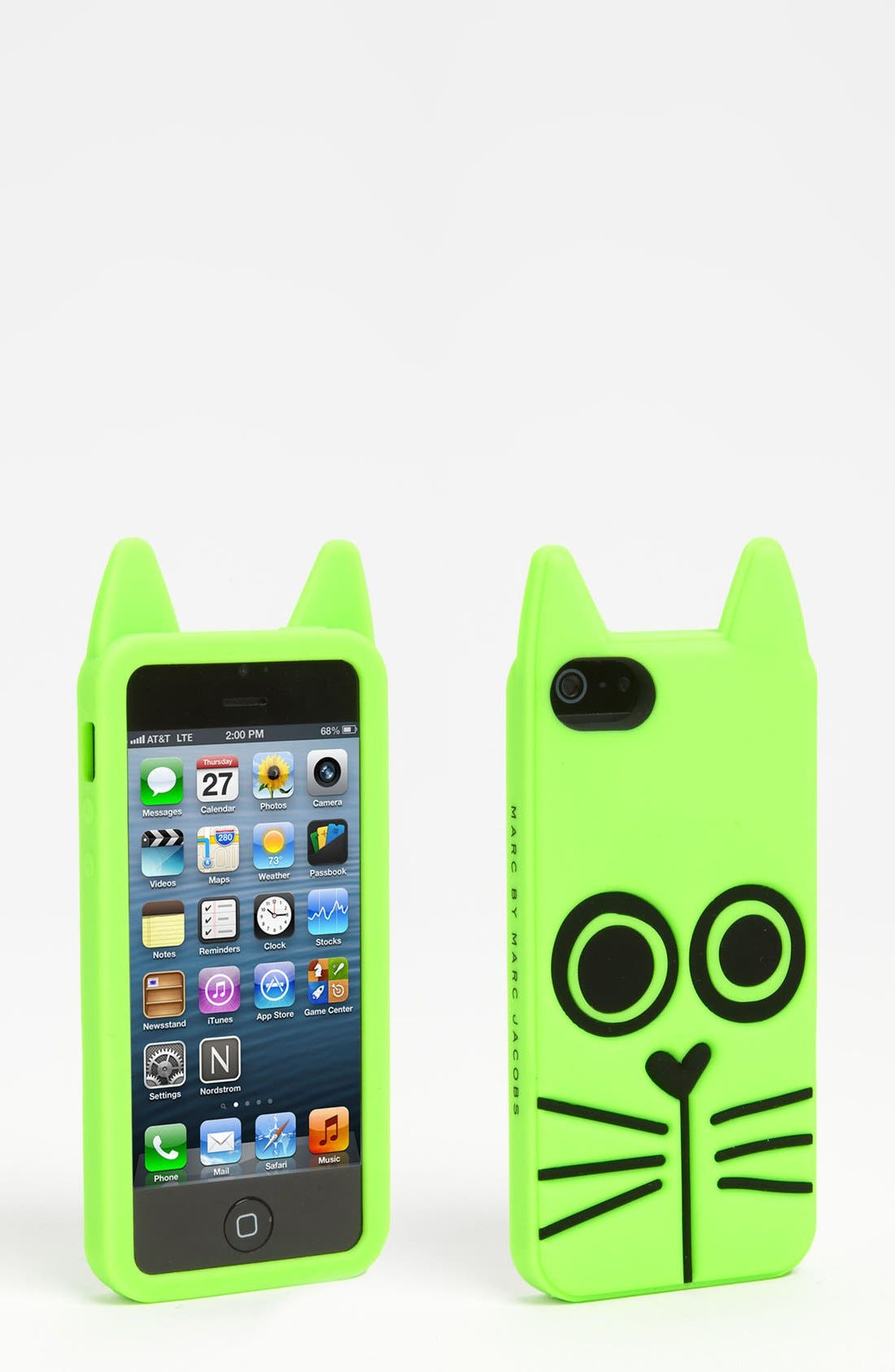Alternate Image 1 Selected - MARC BY MARC JACOBS 'Animal Creatures' iPhone 5 & 5S Case