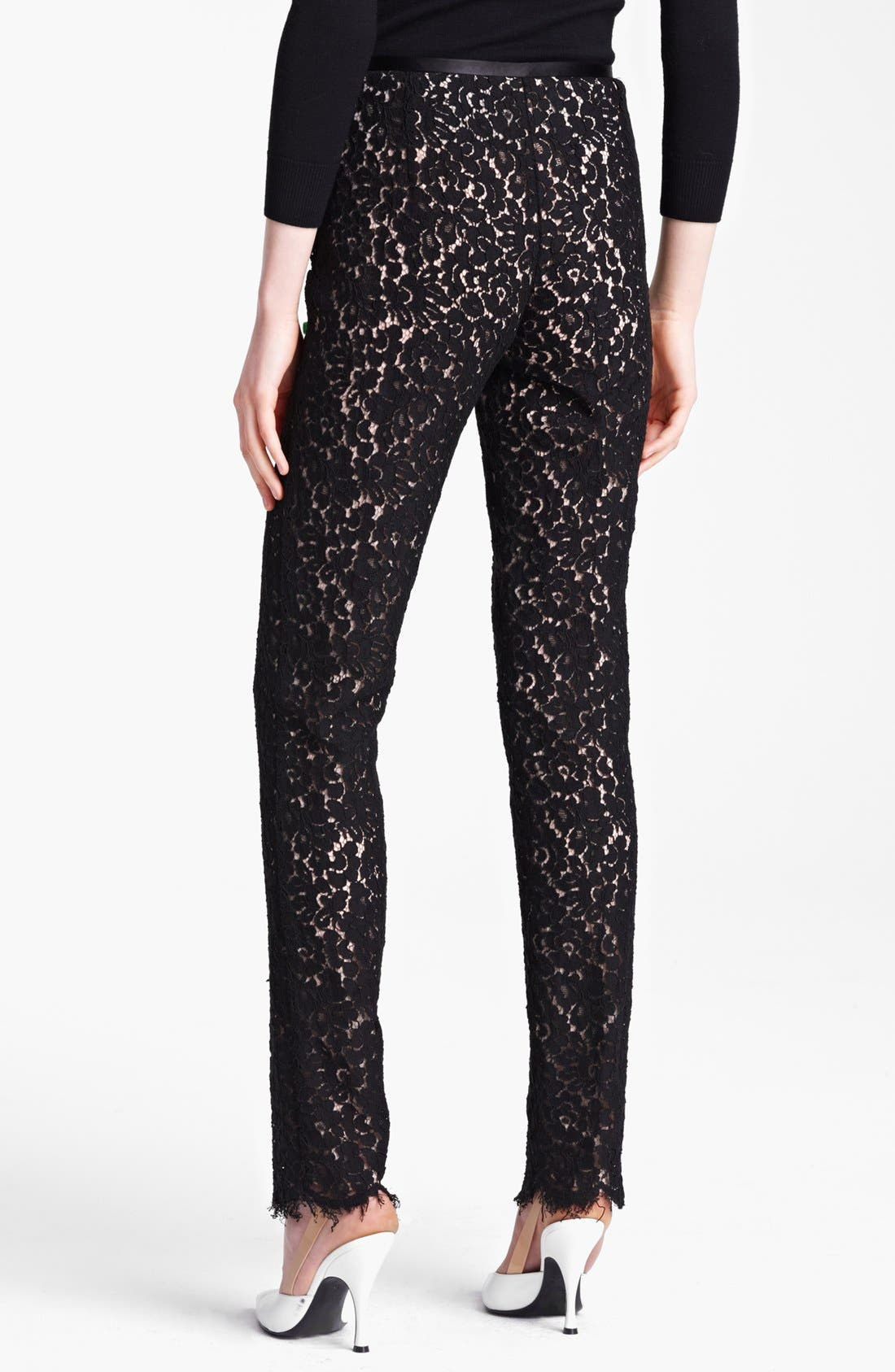 Alternate Image 2  - Michael Kors Floral Lace Pants