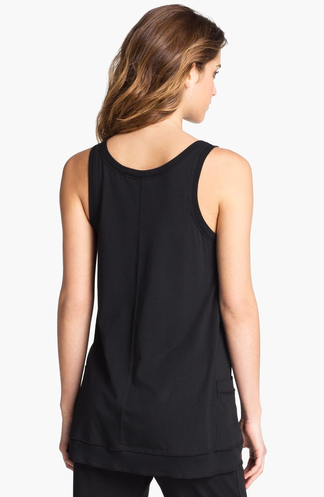 Alternate Image 2  - Donna Karan 'Casual Luxe' Lounge Top