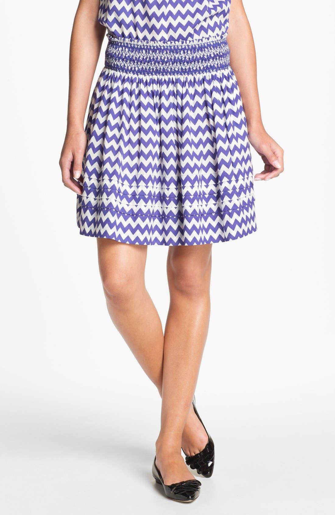 Main Image - kate spade new york 'sidney' stripe skirt