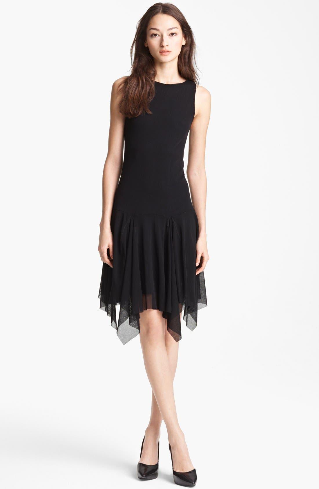 Alternate Image 1 Selected - Jean Paul Gaultier Fuzzi Flutter Hem Dress