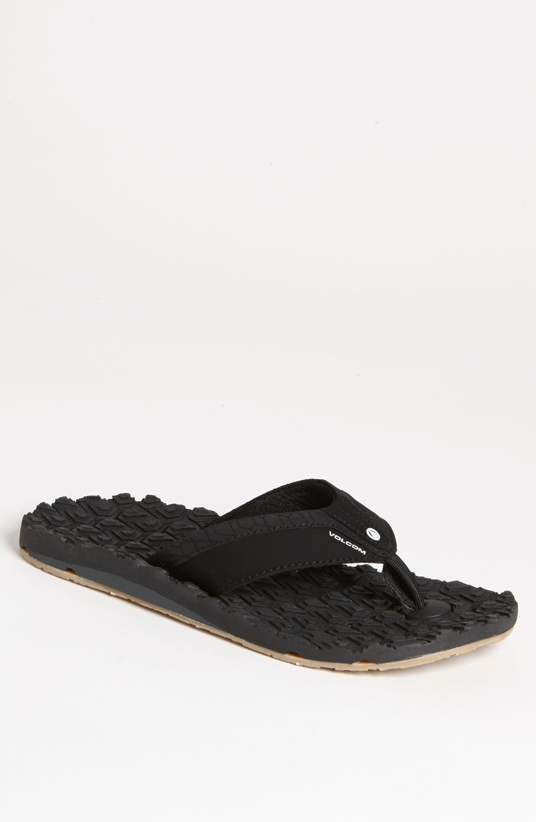 Main Image - Volcom 'Creedlers - Modtech Drain' Flip Flop