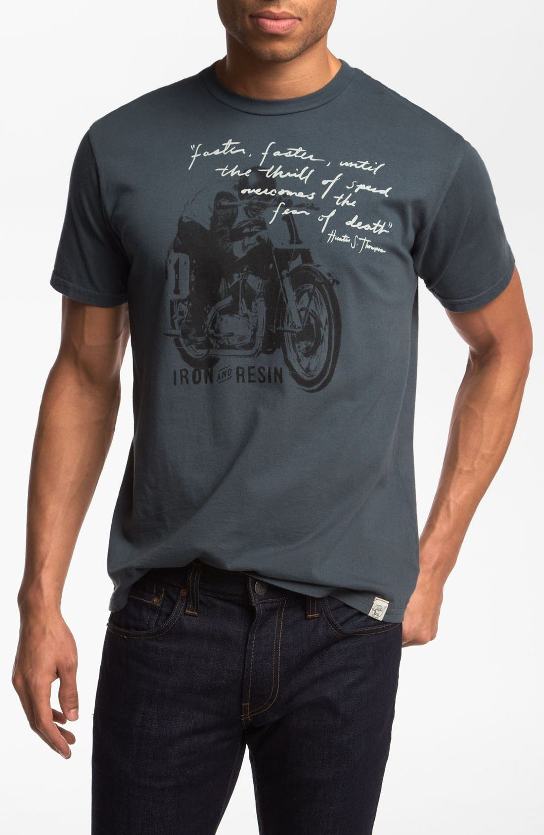 Alternate Image 1 Selected - Iron & Resin 'Faster, Faster' T-Shirt