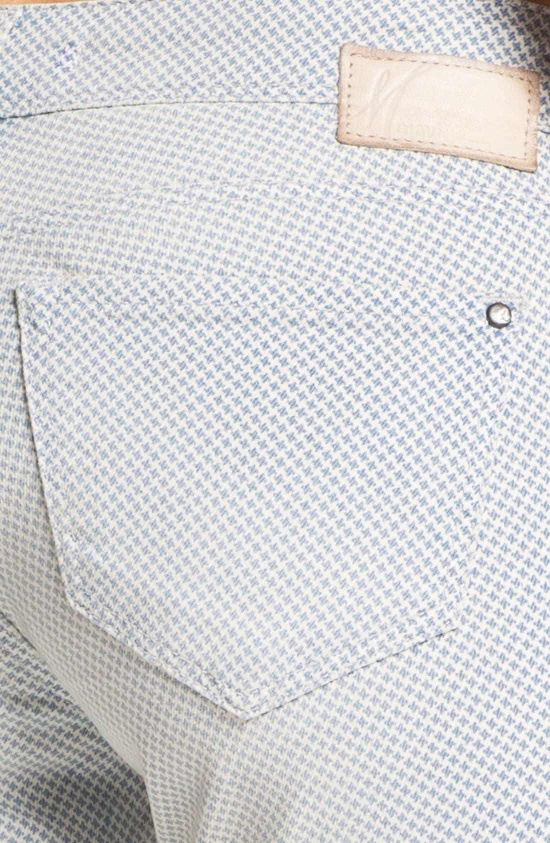 Alternate Image 3  - Mavi Jeans 'Alexa' Super Skinny Print Jeans