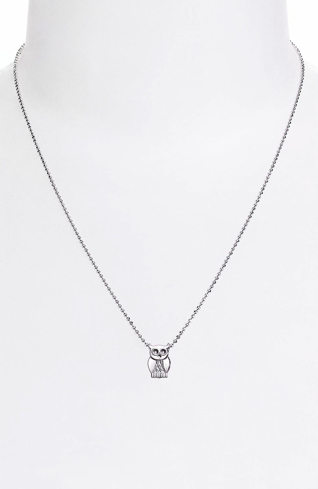 Alternate Image 3  - Alex Woo 'Little Seasons' Owl Pendant Necklace