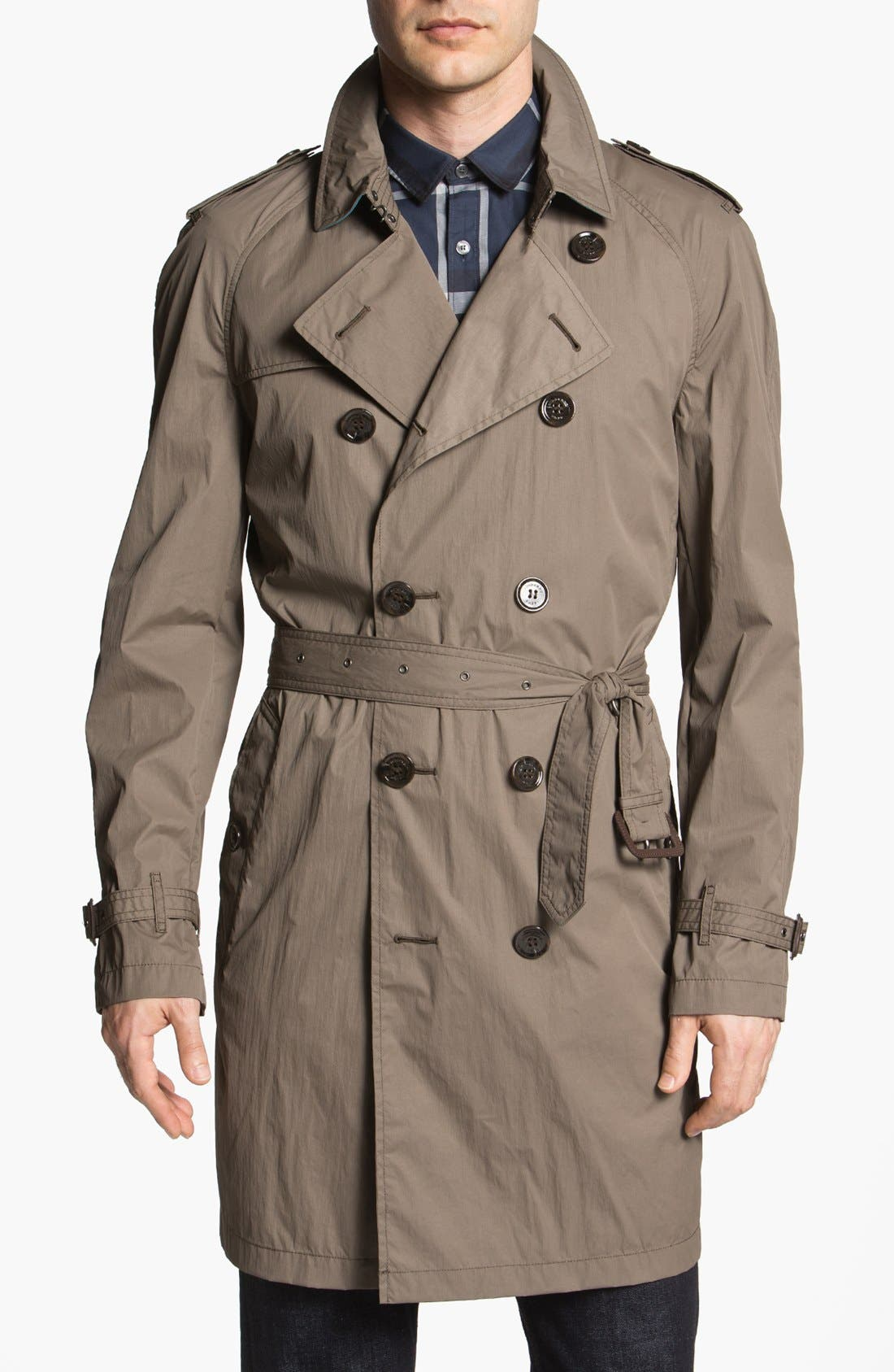 Alternate Image 1 Selected - Burberry Brit 'Coombes' Trench Coat